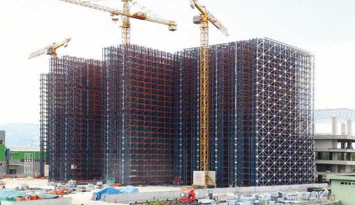 Clad-rack construction