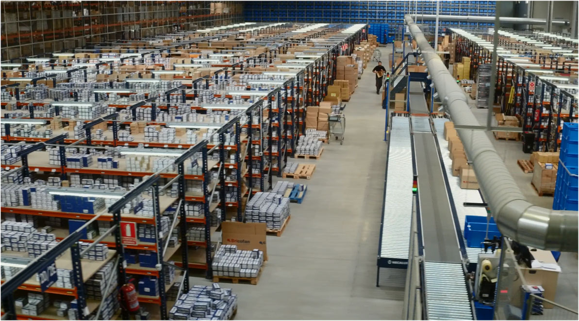 Case study: Automated miniload warehouse of Cofan
