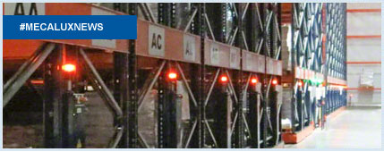 Frozen storage chamber in South Africa features Movirack mobile pallet racks