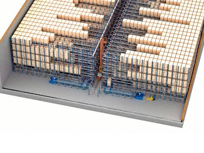 Automated Pallet Shuttle: maximum capacity and profitability in the Cárnicas Chamberí warehouse