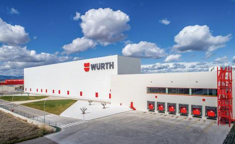 "Würth expands its storage capacity with a Mecalux ""turnkey"" project"