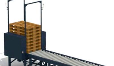 Stacking and re-distributing surplus pallets in a transportation circuit