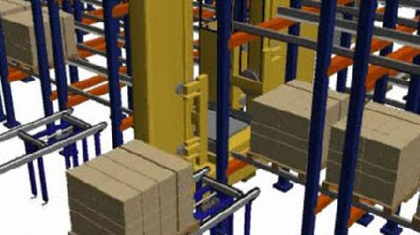 High performance in compact pallet racking