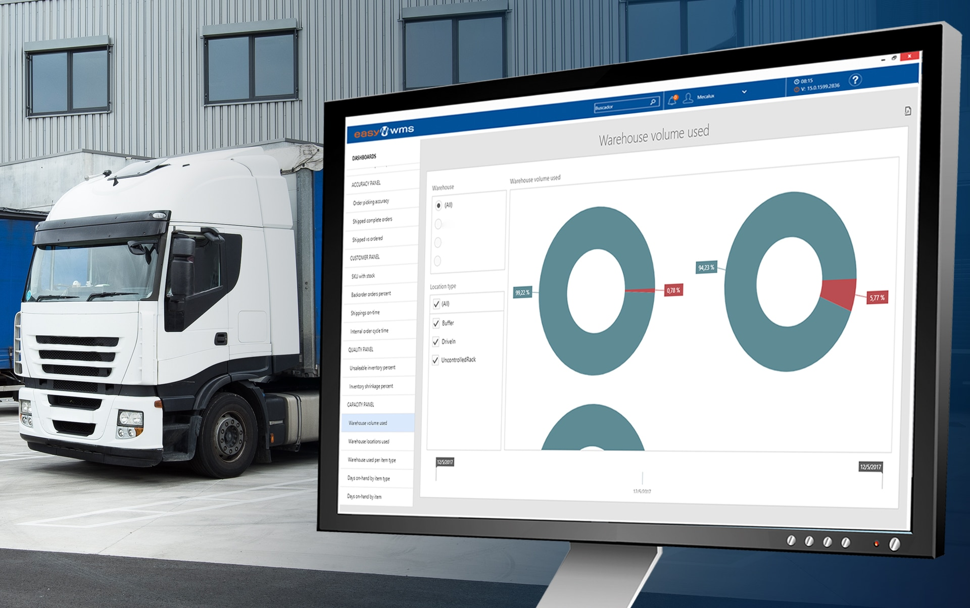 With Easy WMS, Transport UTE will optimise flows at its warehouse in France