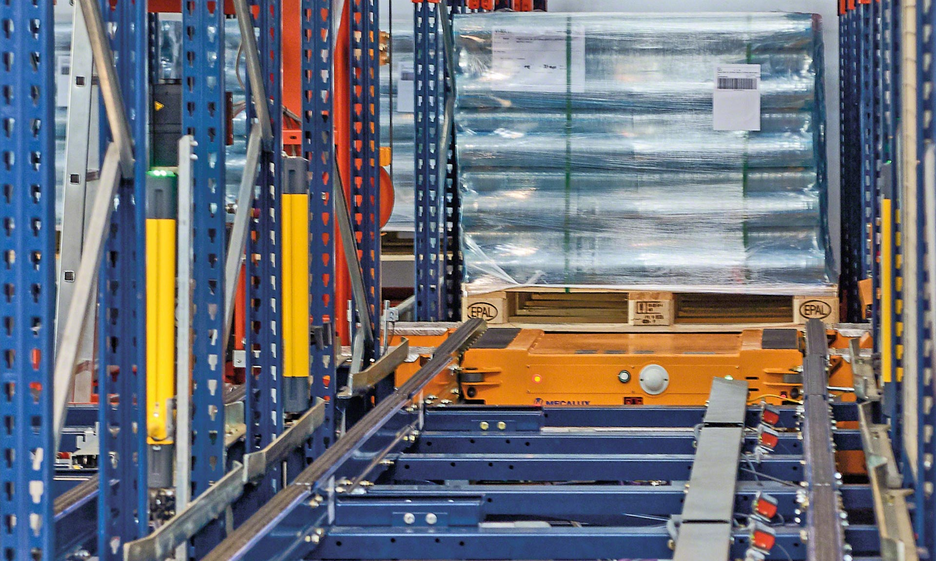 Iberfrasa's new automated warehouse for household and personal care products