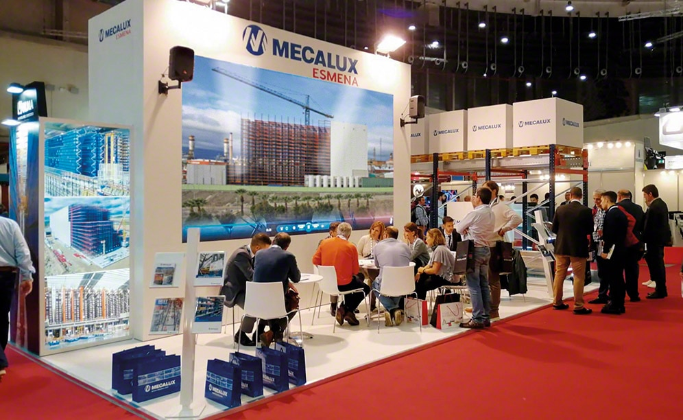 Mecalux exhibits the Easy WMS software at Logistics & Distribution Madrid