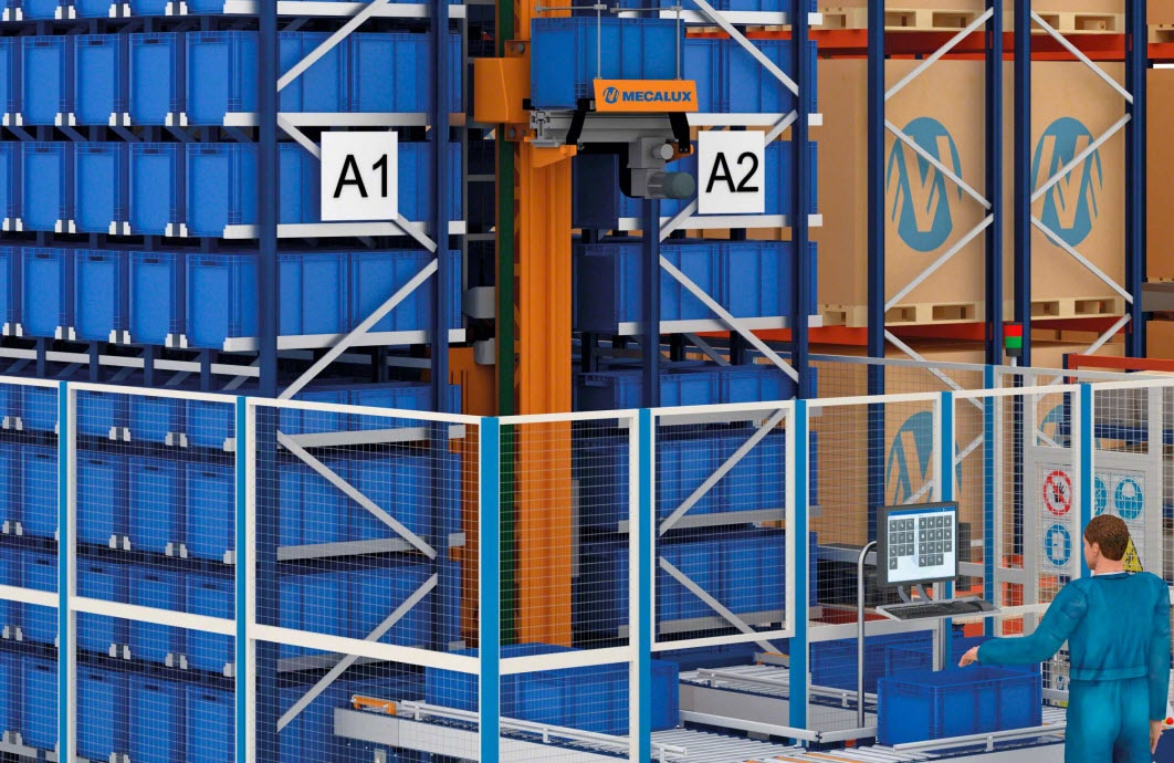 Nacomi to open a new warehouse with efficient Mecalux management systems