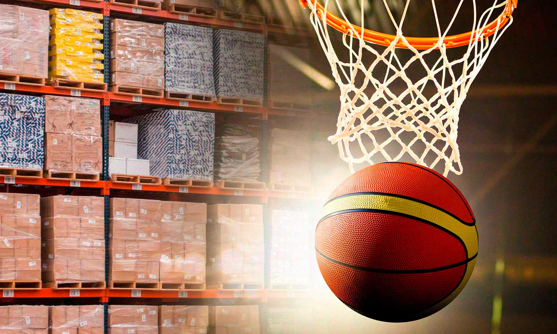 United Sports Brands Europe: versatility for a sporting goods warehouse